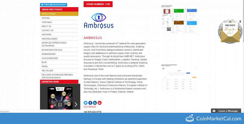 Ambrosus description