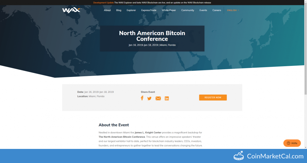 NA Bitcoin Conference