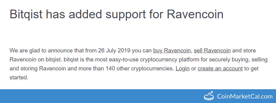 Ravencoin (RVN) - Events & News