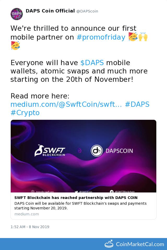 DAPS Token description