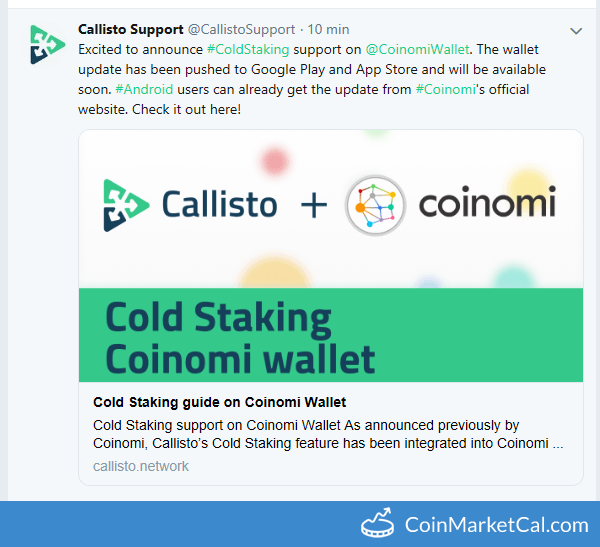 Cold Staking Feature on Coinomi