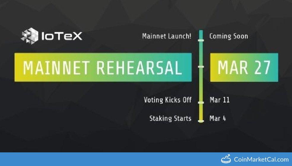 Mainnet Rehearsal