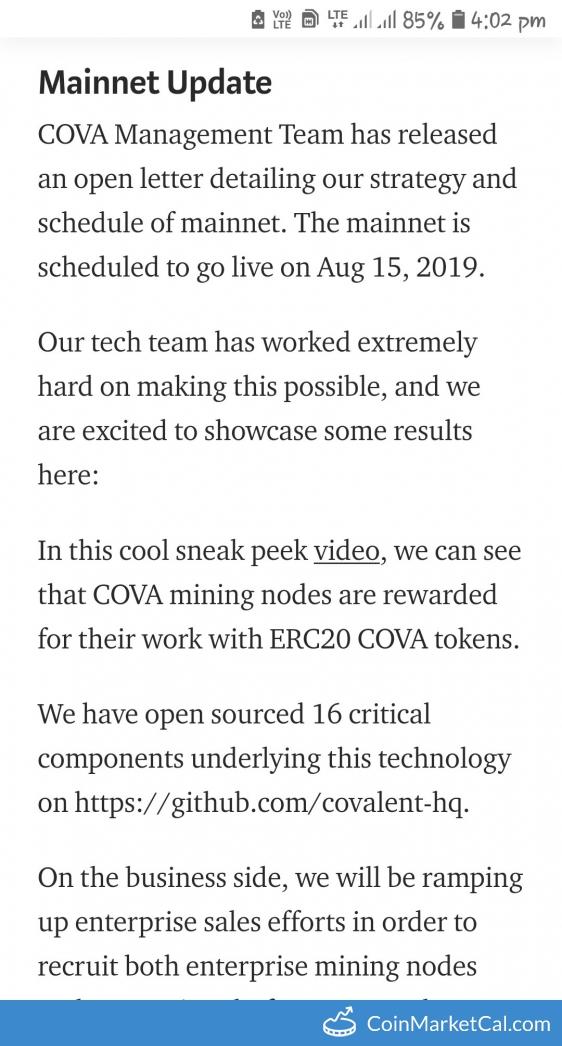 CoinMarketCal - Cryptocurrency Calendar