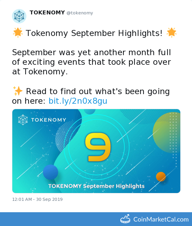 TEN Tokenomy coin
