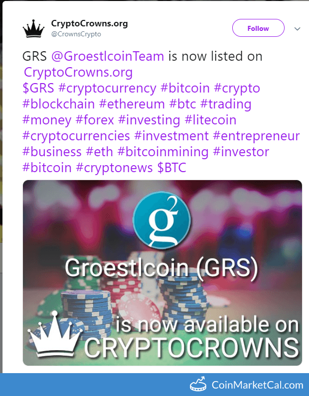 Added to CryptoCrowns