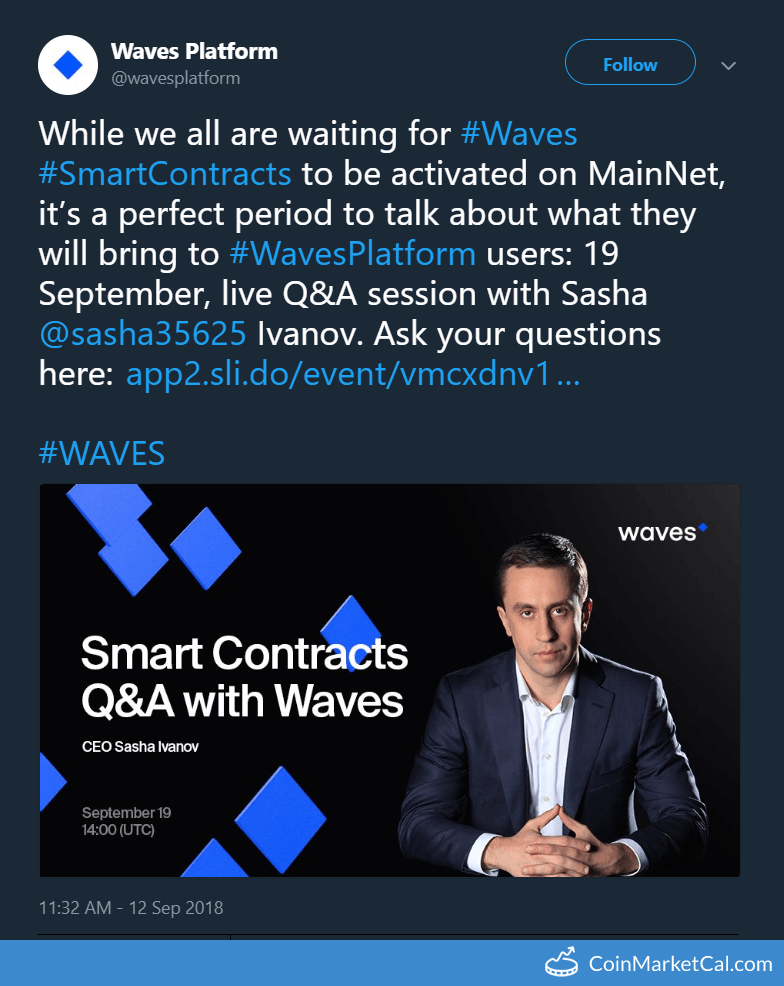 Waves Smart Contracts Q&A