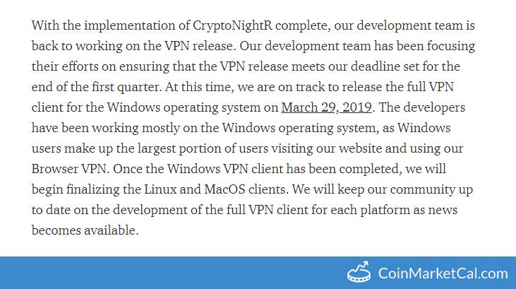 Lethean VPN Release
