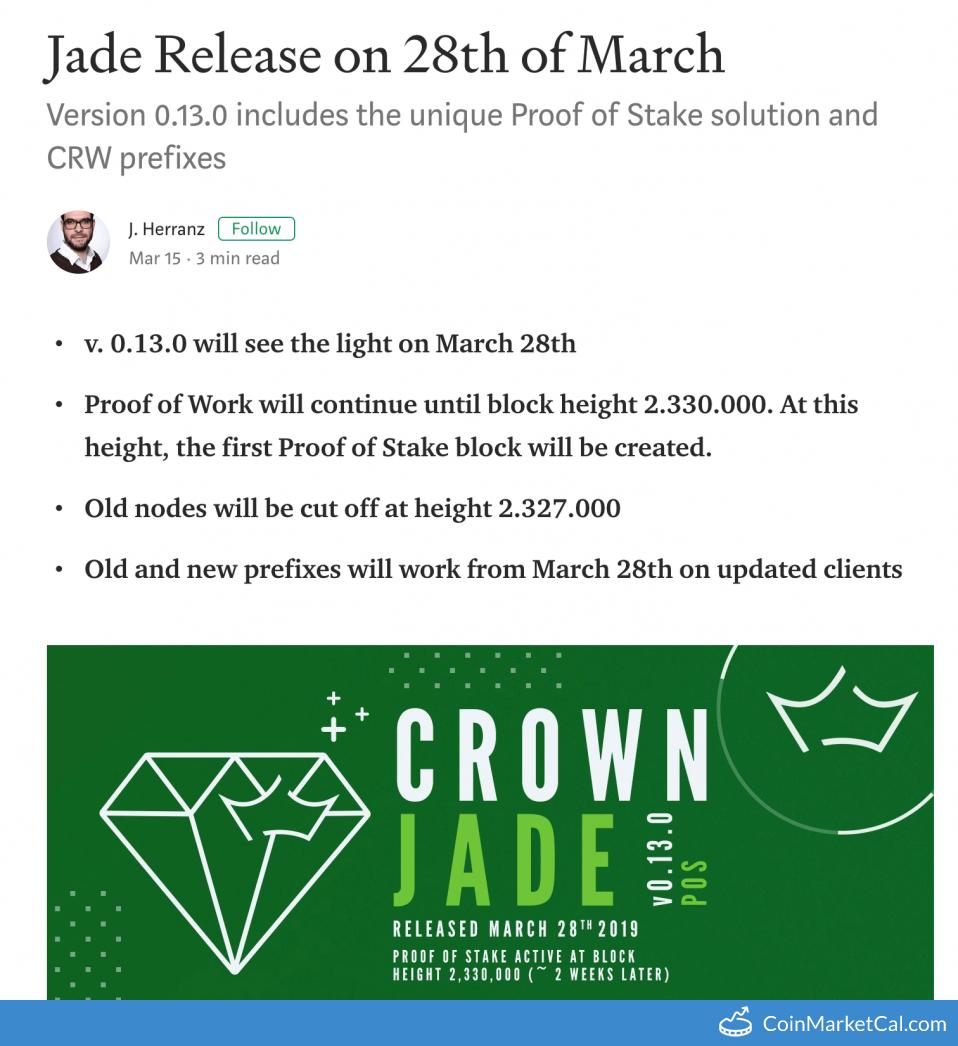 Jade Release